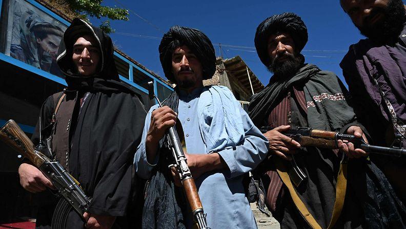 Taleban-taistelijoita.