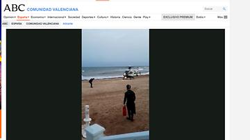 OMA: espanja, naisen hukkuminen