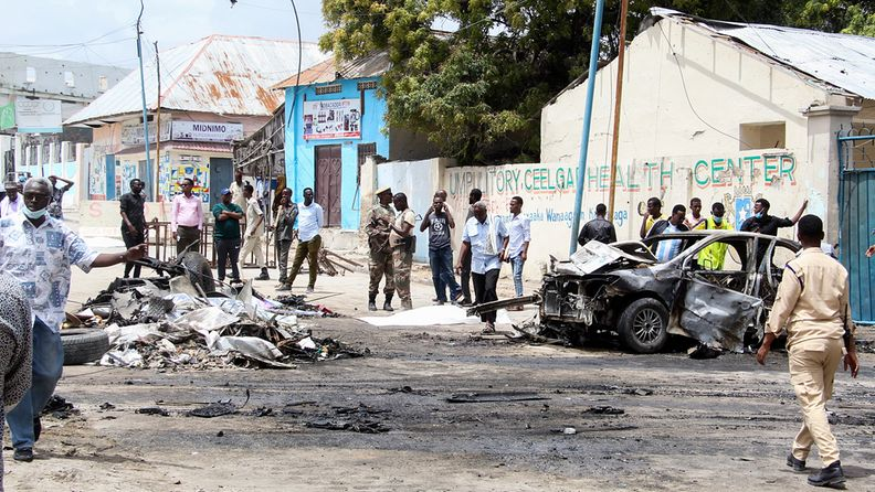 Autopommi-isku Mogadishussa 25. syyskuuta 2021.