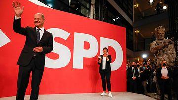 LK Saksan SPD:n kansleriehdokas Olaf Scholz