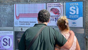 LK San Marinon abortinvastainen kampanja