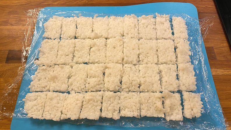 Tiktok resepti riisi paloiteltuna