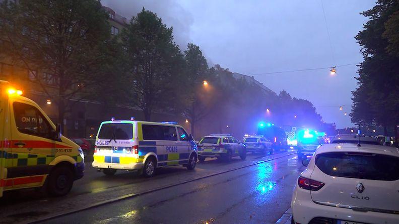 Göteborgin räjähdys autot
