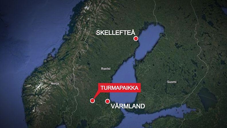 Ruotsi-lentoturma-kartta-300921