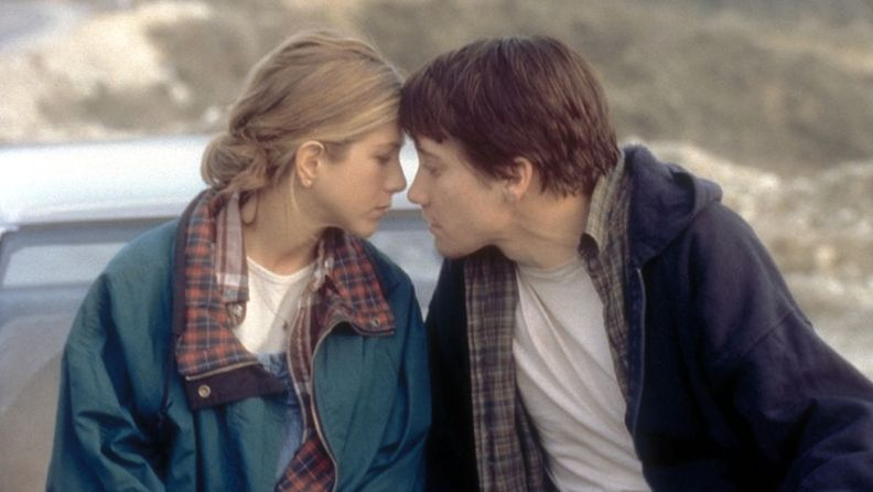 Jennifer Aniston ja Jake Gyllenhaal elokuvassa The Good Girl (2002)