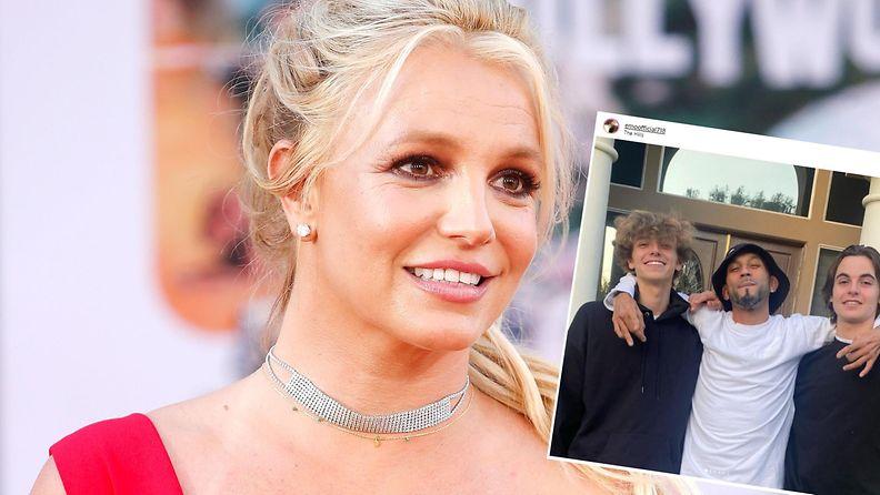 Britney Spears ja lapset
