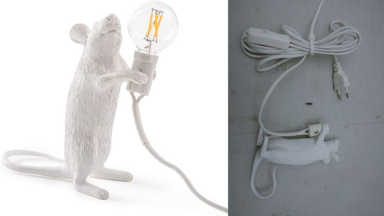 seletti the mouse lamp standing