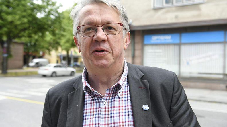 Keskustan kansanedustaja Juha Rehula Suomi Areena -tapahtumassa Porissa 13. heinäkuuta 2017.