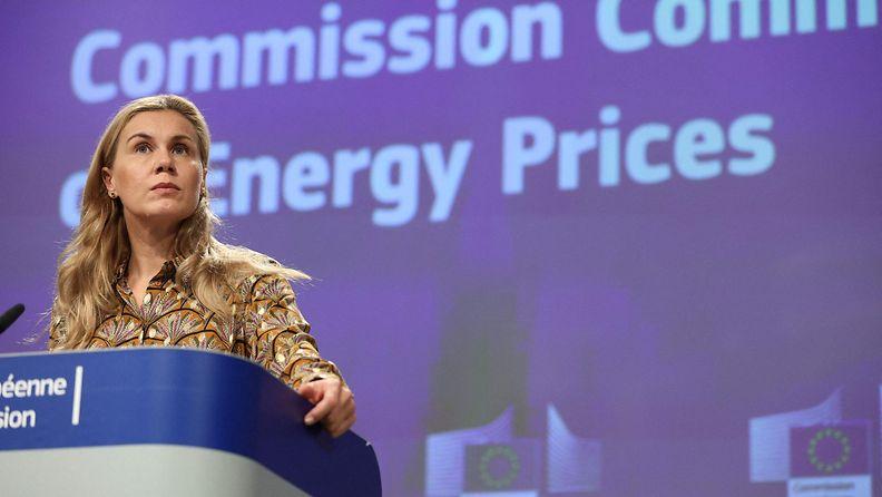 Energiakomissaari Kadri Simson.