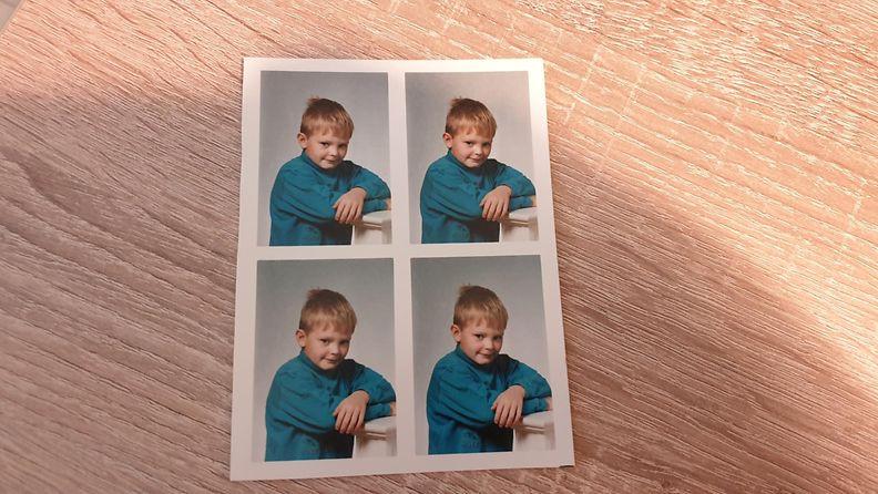 Antti Hanhivaara pikkulapsena