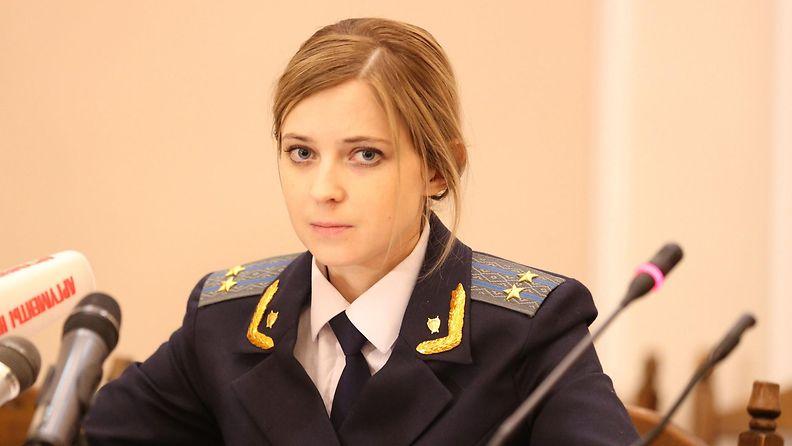 Natalia Poklonskaja.