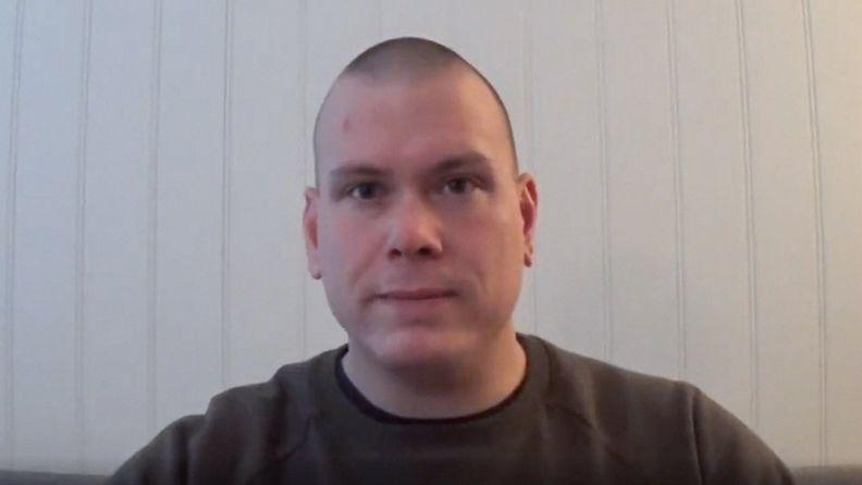 Norjan jousihyökkääjä Espen Andersen Bråthen