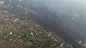 OMA: La Palma, tulivuorenpurkaus