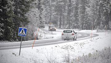 Lumi talvi auto LK 17.10.2021