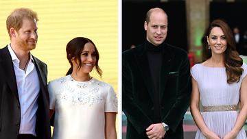 Harry ja Meghan, William ja Kate