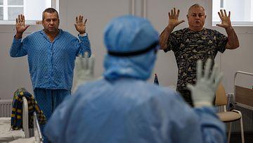 Venäjä koronavirus potilas afp