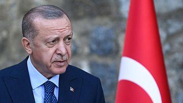 LK 23.10.2021 Turkin presidentti Recep Tayyip Erdogan