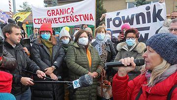 AOP puola äidit protesti
