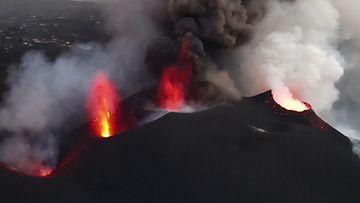OMA: La Palman tulivuorenpurkaus