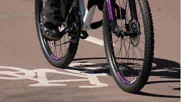 AOP Polkupyöräilijä, pyörä, pyöräilijä