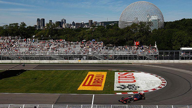 Kanadan F1-rata