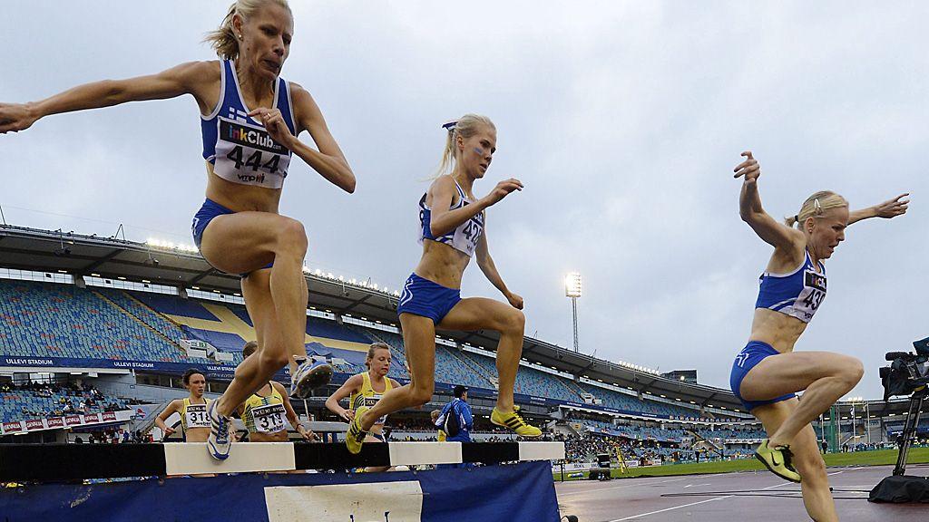 yleisurheilu tulokset uhkeat naiset