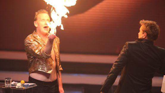 Taikuri Stavie Starr on esitellyt erikoisia lahjojaan myös saksalaisessa Das Supertalent-ohjelmassa.