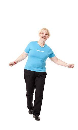 Anita keventyi vuodessa yli 30 kiloa.