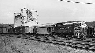 Juna oli Amerikassa tärkeä kulkuväline.