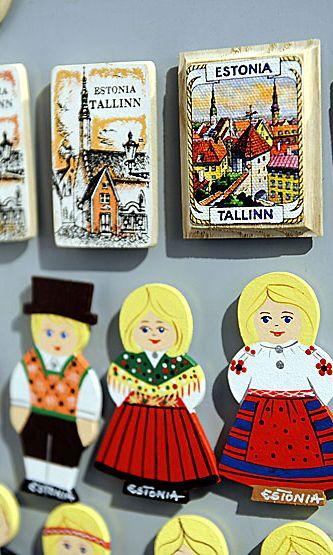 Matkamuistoja Tallinnassa.