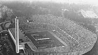 Helsingin Olympiastadion 1952 (Photo: IOC Olympic Museum/Allsport)