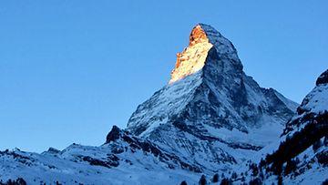 Alpit ja Matterhorn.