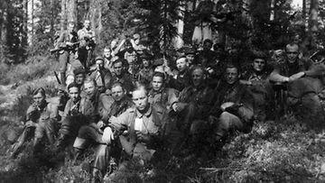 Partio Hokki lähetettiin vihollisen puolelle häiritsemään huoltoliikennettä.