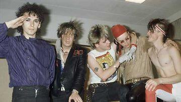 Pepe Laaksonen, Jonttu Virta, Neumann, Pepe Nuotio ja Quuppa vuonna 1985.