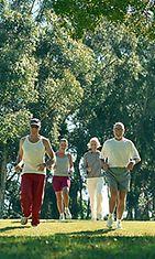 Liikunta on tärkeää niin nuorille kuin vanhemmillekin.