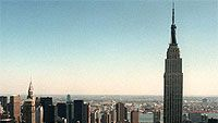 New York City ja Empire State Building, kuva: AP