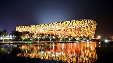 Linnunpesä oli Pekingin olympialaisten päänäyttämö.