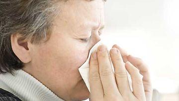 Tuoksuyliherkän arki on täynnä haasteita. Kuvan henkilö ei liity haastatteluun.