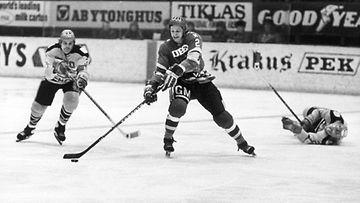 Rantasila HIFK:n pelipaidassa.