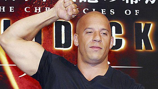 Vin Dieseliltä ei lihaksia puutu.