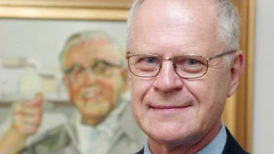 Pentti Lasanen vastaanotti vuonna 2002 Georg Malmsten -palkinnon.