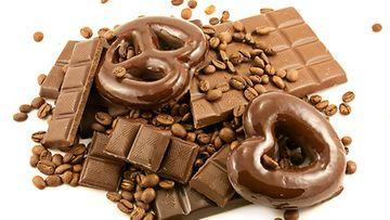 Harva pystyy syömään suklaata yllin kyllin.