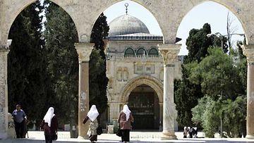 Vanhoja rakennuksia Jerusalemissa.