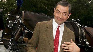 Mr. Bean joutuu jatkuvasti pulaan.