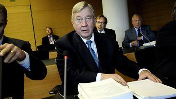 Zacharias Sundström Helsingin käräjäoikeudessa vuonna 2009.