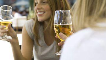 Alkoholijuomien kulutus kasvoi viime vuonna prosentin edellisvuoteen verrattuna.