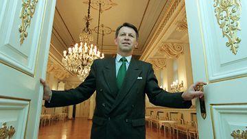 Linnanvouti Erkki Ahokas vuonna 2000.