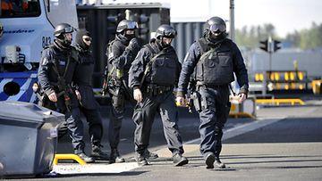 Helsingin poliisilaitoksen valmiusyksikkö pitää osaamistaan yllä jatkuvalla koulutuksella.