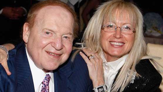 Pariskunta Sheldon ja Miriam Adelson