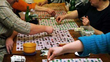 Bingo haastaa muistia.